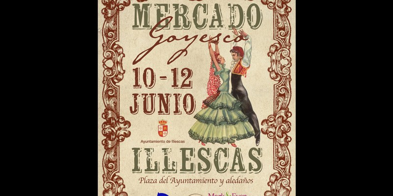 Cartel Mercado Goyesco