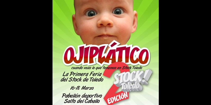 Cartel Feria Stock